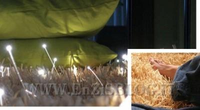 glow tappeto luminoso 000 400x220 Tappeto luminoso Glow di Javier Taberner e Nucho Poveda per Nanimarquina