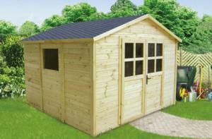 casetta-legno-300x197 Costruire una casetta porta atrezzi in legno