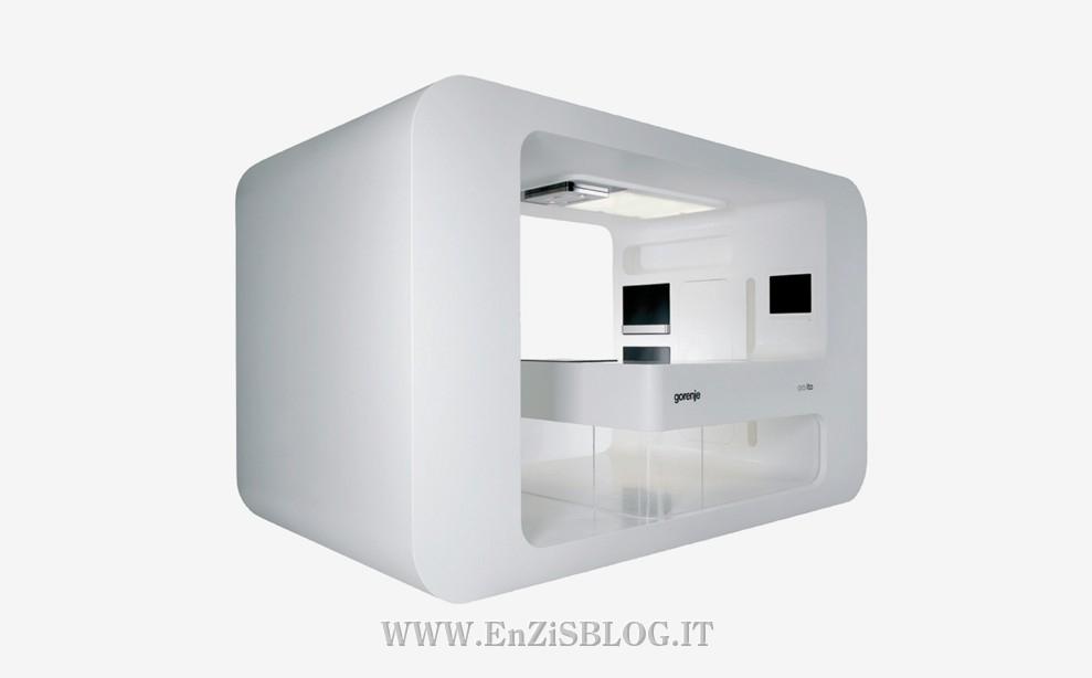 Fesselnd Der Prototyp Der Futuristischen Küche ( Die Futuristische Küche Prototyp),  Designed By Ora Ito (richtiger Name Ist Ito Morabito) Für Gorenje Sieht Aus  Wie ...