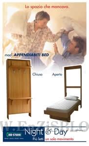 nightday01 Night & Day   Produzione letti trasformabili e armadi cucina