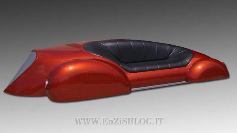 Asta Ebay Per Un Divano Simil Auto Car Couch Home