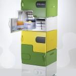 flatshare fridge 01 150x150 Flashare fridge: Frigorifero condiviso by Electrolux