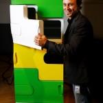flatshare fridge 02 150x150 Flashare fridge: Frigorifero condiviso by Electrolux