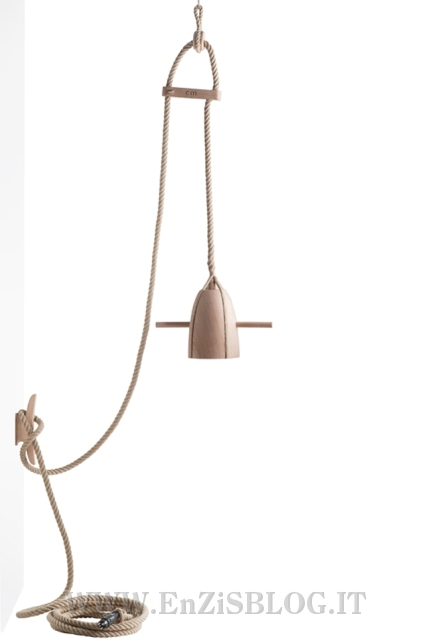 Lampade in corda by Christien Meindertsma  Home Inutility & Fashion Design :: :: EnZiS Blog