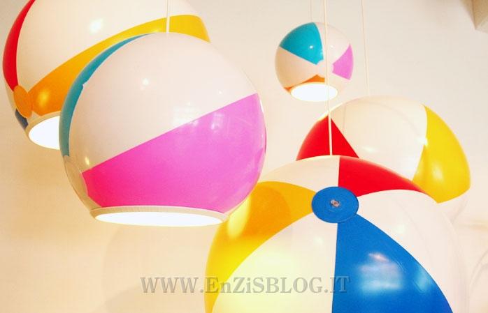 Beach ball lamps: lampade da spiaggia enzis blog