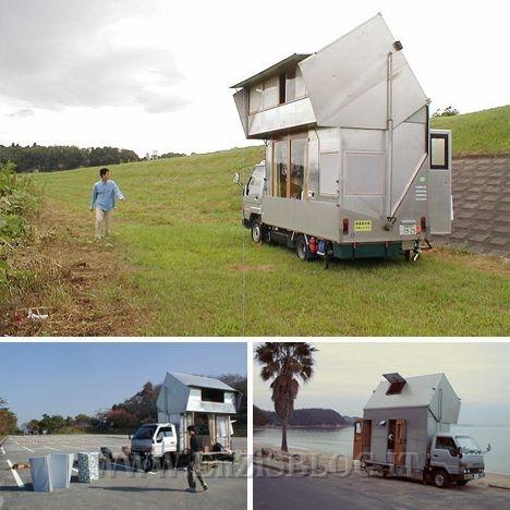 die japanischen stil haus auf r dern motorhome camper haus auf r dern. Black Bedroom Furniture Sets. Home Design Ideas