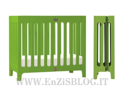 culla alma bloombaby 01 400x304 Alma by BloomBABY: la Culla   Lettino richiudibile