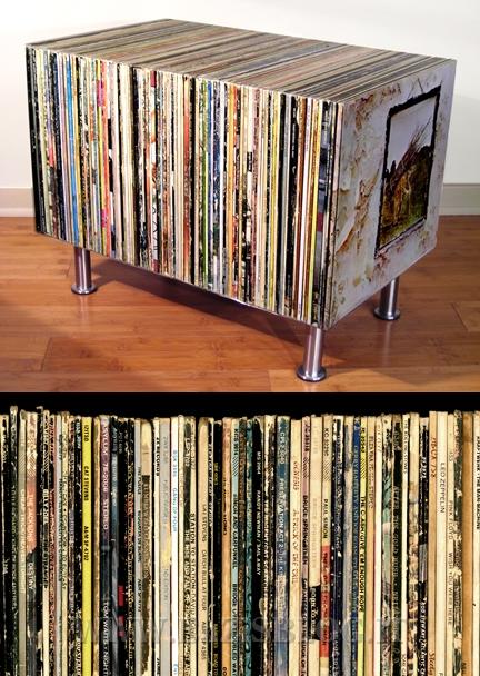 Ricicliamo vecchi vinili 33 giri diventano un moderno - Porta dischi vinile ...