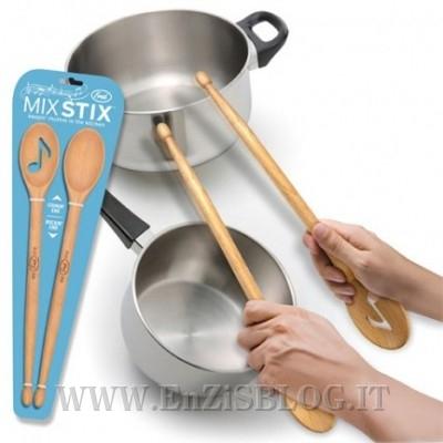 MixStix 400x400 Mix Stix: per essere ottimi batteristi in cucina