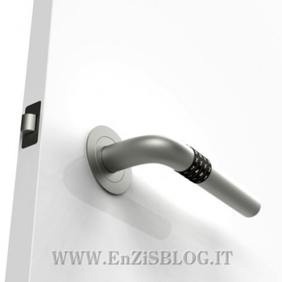 Numlock Handle 01 400x400 Numlock Handle: la porta con la combinazione