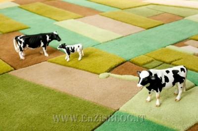 land carpet 01 400x266 Land Carpet: i tappeti panorama by Florian Pucher