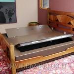 concealed bed 150x150 Bedbunker, il letto con la cassaforte dentro