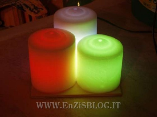 Candele LED fai-da-te - EnZiS Blog