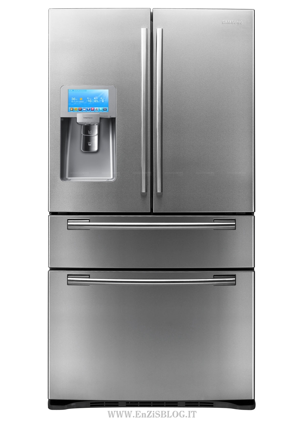 Refrigerator Wi-Fi and Touch Screen by Samsung | Home Inutility ...