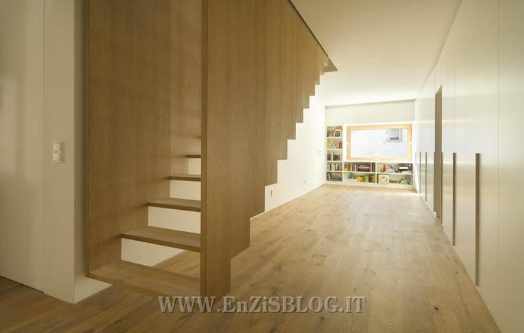 La scala sospesa by soho architektur home inutility - Como se hacen escaleras de madera ...