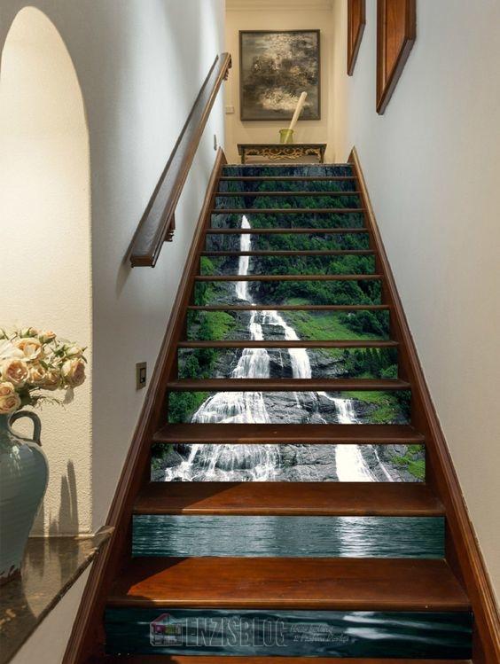 Adesivi-scale-01 Adesivi murali per le scale e salirle sarà più leggero