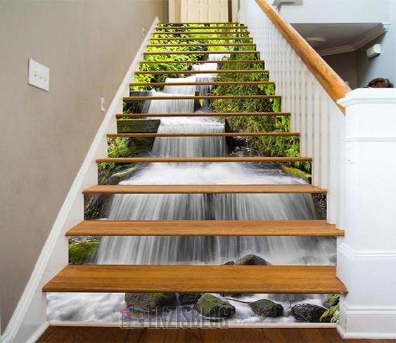 Adesivi-scale-03 Adesivi murali per le scale e salirle sarà più leggero