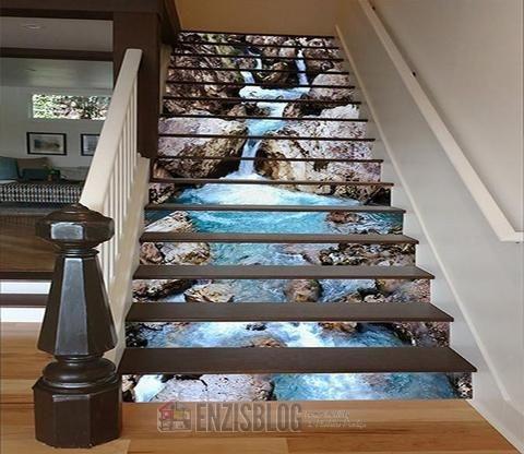 Adesivi-scale-04 Adesivi murali per le scale e salirle sarà più leggero