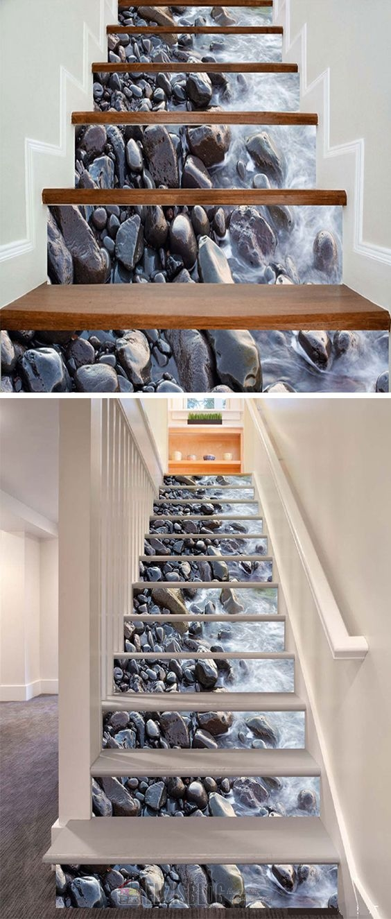 Adesivi-scale-08 Adesivi murali per le scale e salirle sarà più leggero