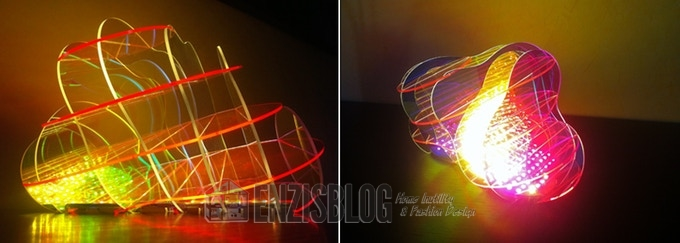 AmebaO-02 AmebaO: La splendida lampada dal design contemporaneo