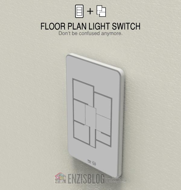 Interruttore luce personalizzabile con la planimetria for Planimetria stanza