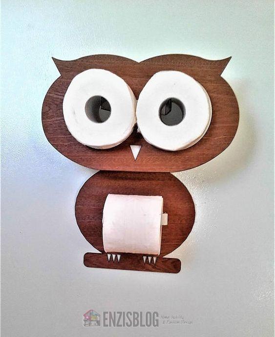 Porta rotolo di carta igienica fuori dal comune enzis blog - Porta carta igienica design ...